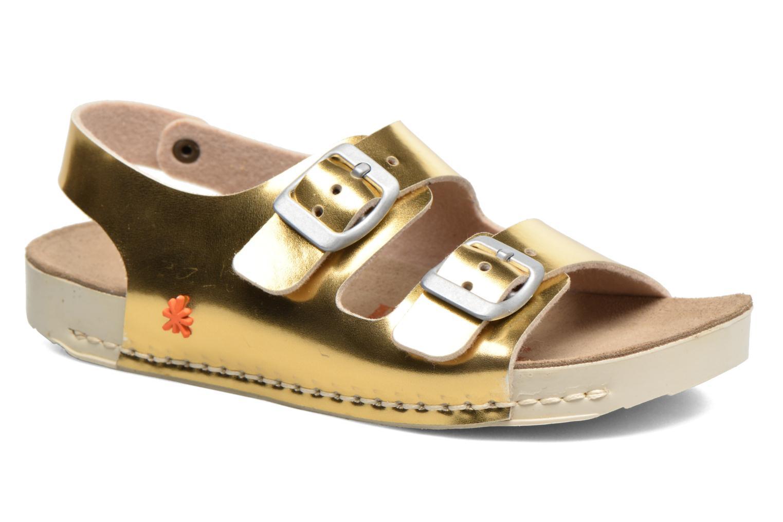 Sandaler Art A433 I Play Bronze och Guld detaljerad bild på paret