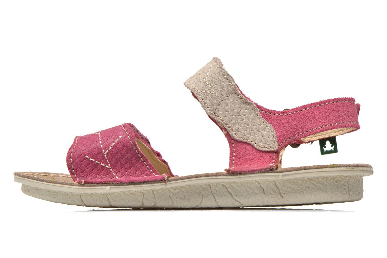 Sandales et nu-pieds El Naturalista Kiri 5E-284 Rose vue face