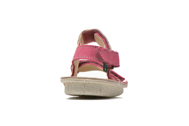 Sandales et nu-pieds El Naturalista Kiri 5E-284 Rose vue droite