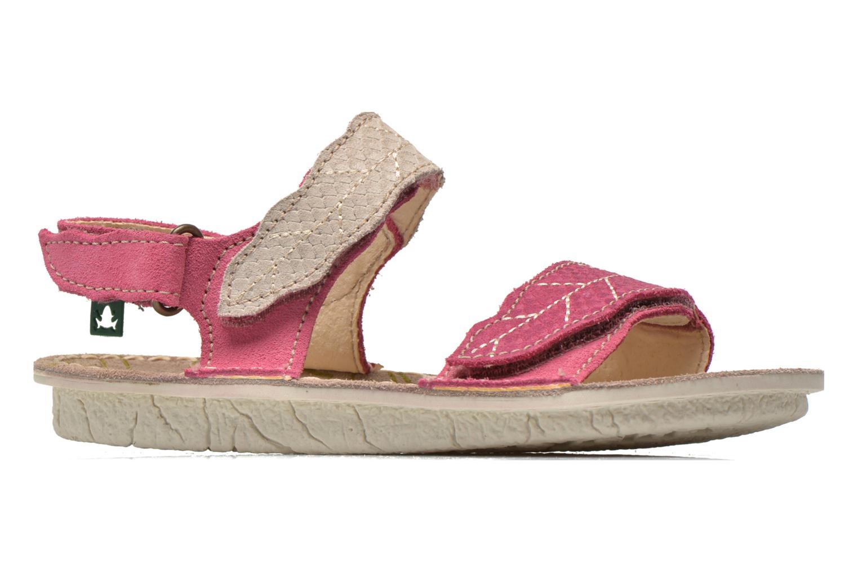 Sandales et nu-pieds El Naturalista Kiri 5E-284 Rose vue derrière