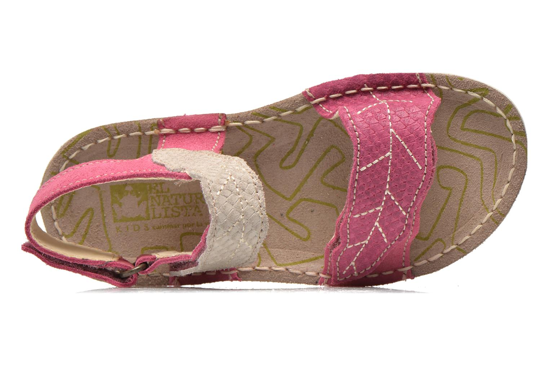 Sandales et nu-pieds El Naturalista Kiri 5E-284 Rose vue gauche