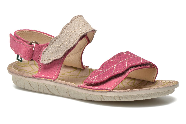 Sandales et nu-pieds El Naturalista Kiri 5E-284 Rose vue détail/paire