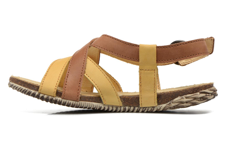 Sandales et nu-pieds El Naturalista Tayrona E508 Marron vue face