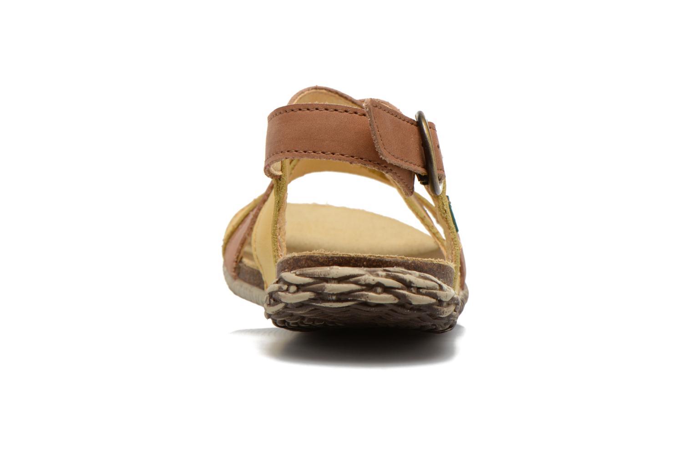 Sandales et nu-pieds El Naturalista Tayrona E508 Marron vue droite