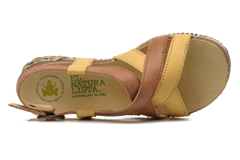Sandales et nu-pieds El Naturalista Tayrona E508 Marron vue gauche