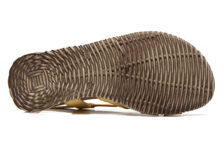Sandales et nu-pieds El Naturalista Tayrona E508 Marron vue haut