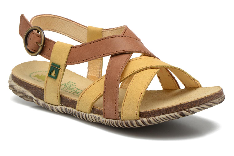 Sandales et nu-pieds El Naturalista Tayrona E508 Marron vue détail/paire