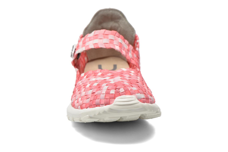 Baskets DUDE E-last Tessa Rose vue portées chaussures