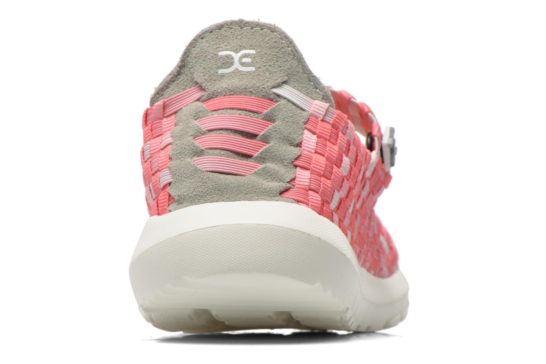 Sneakers DUDE E-last Tessa Roze rechts