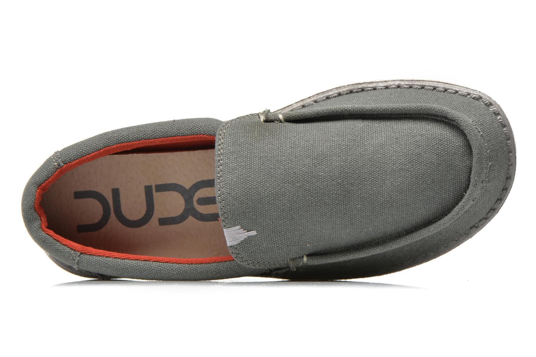 Loafers DUDE Remo Grå bild från vänster sidan