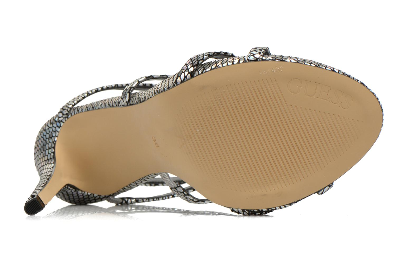 Sandals Guess Adalee Black view from above
