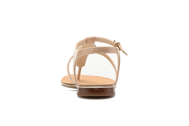 Sandales et nu-pieds Guess Roxxie Beige vue droite