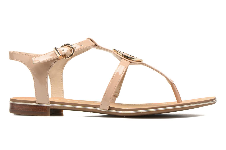 Sandales et nu-pieds Guess Roxxie Beige vue derrière