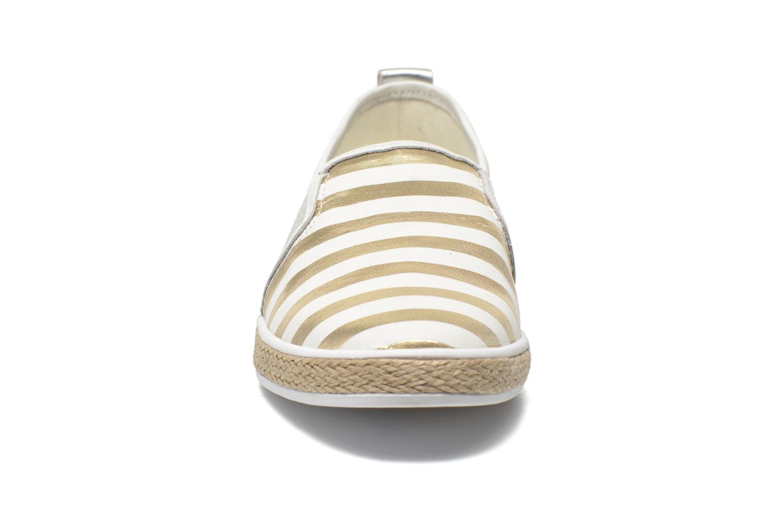 Espadrilles Guess Laurel Multicolore vue portées chaussures