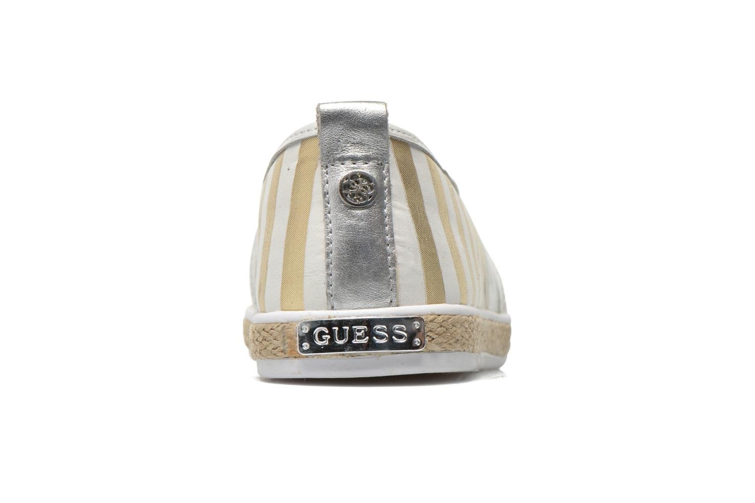 Alpargatas Guess Laurel Multicolor vista lateral derecha