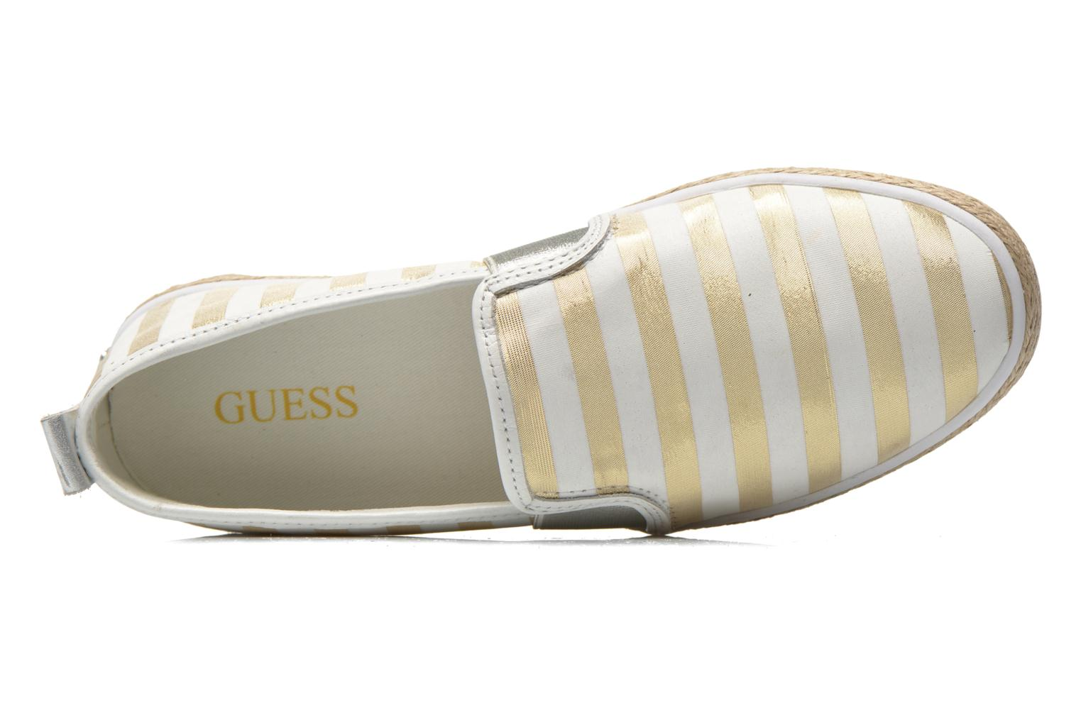 Alpargatas Guess Laurel Multicolor vista lateral izquierda