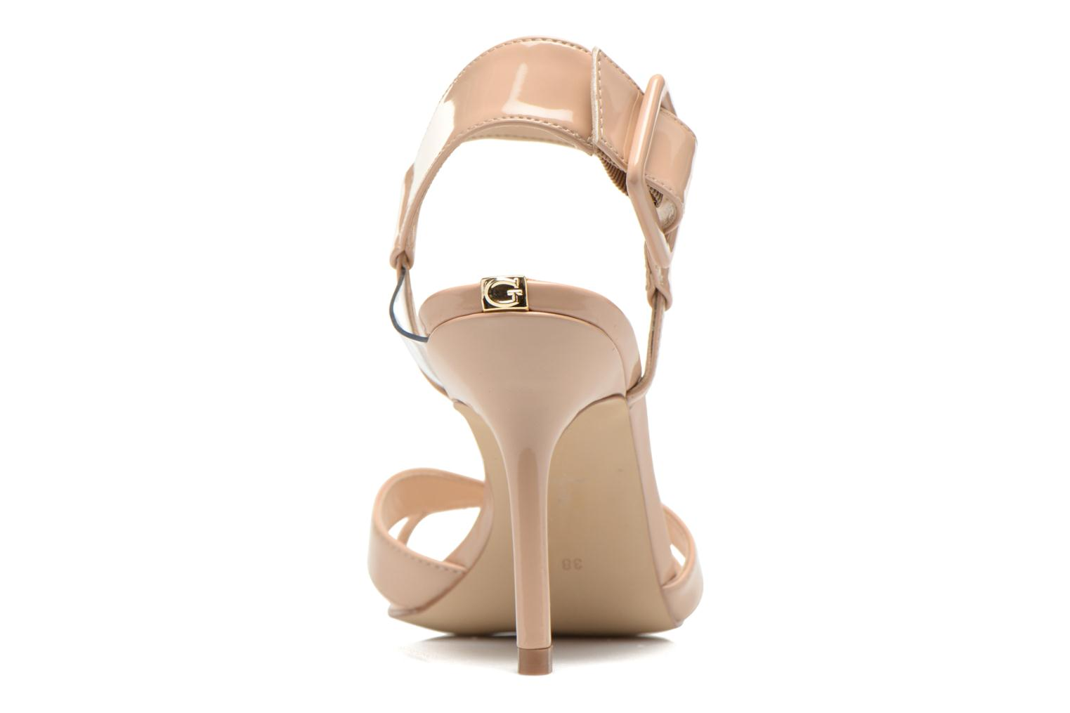 Sandals Guess Deetra Beige view from the right