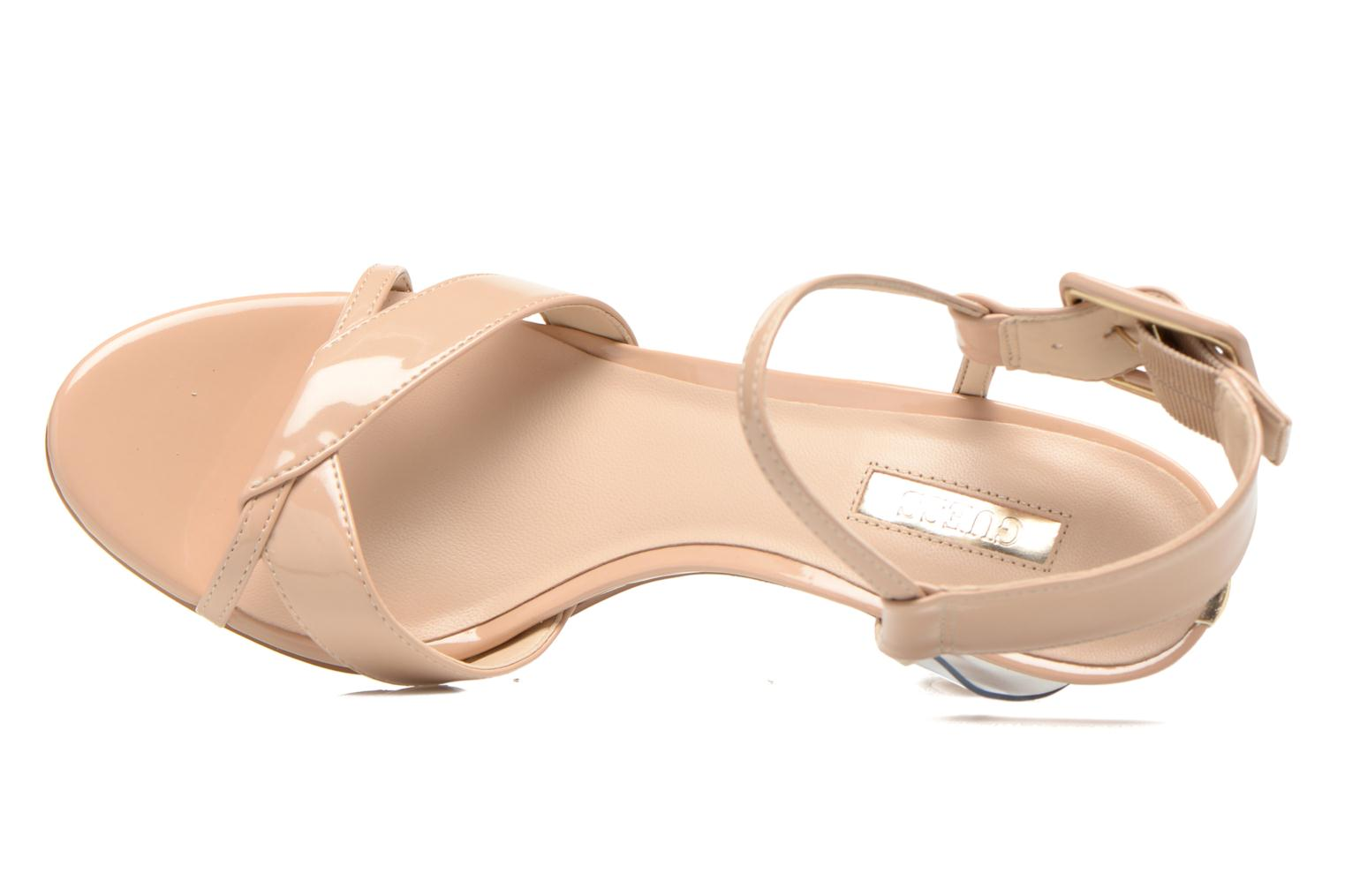 Sandals Guess Deetra Beige view from the left