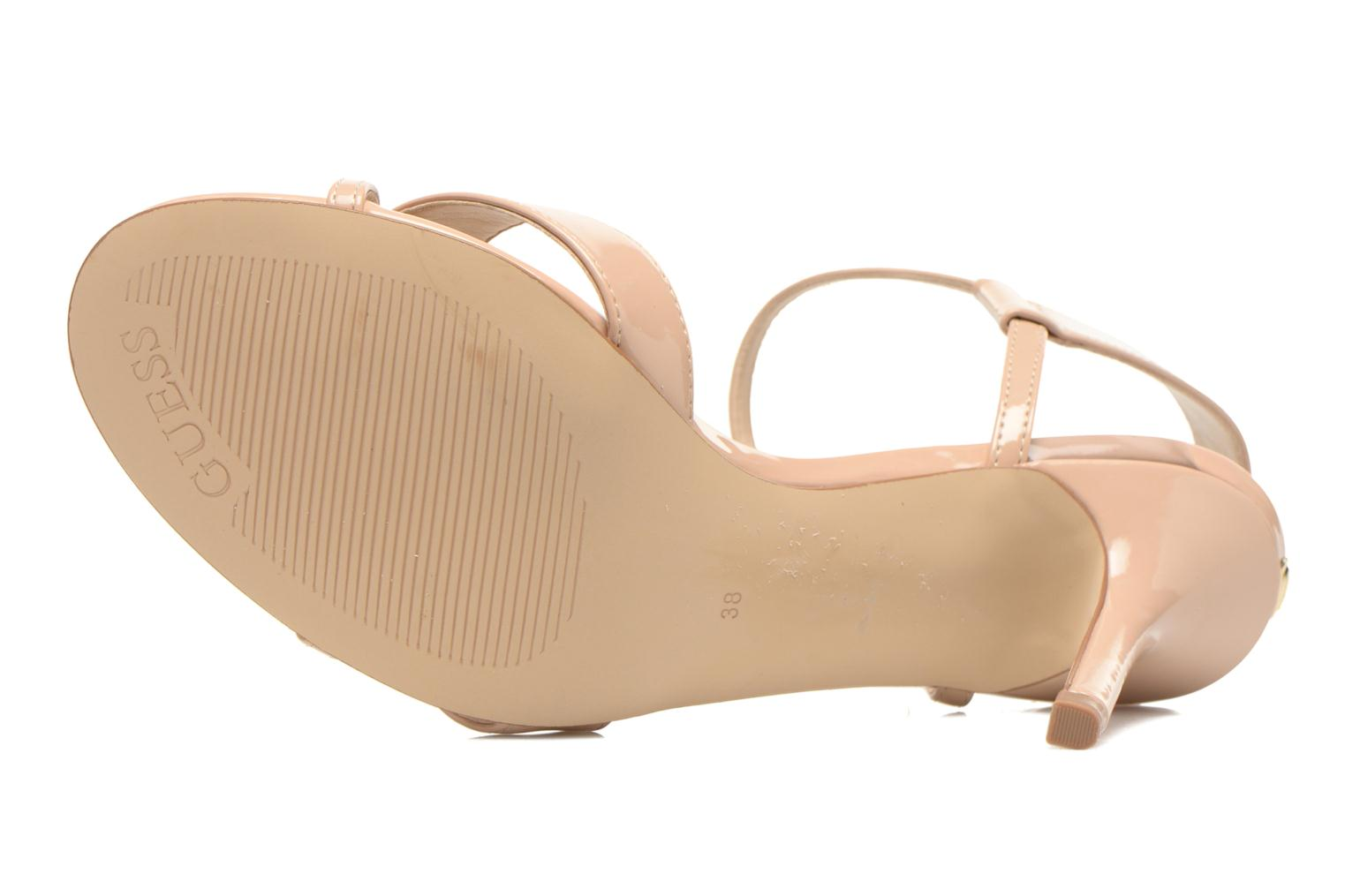 Sandals Guess Deetra Beige view from above
