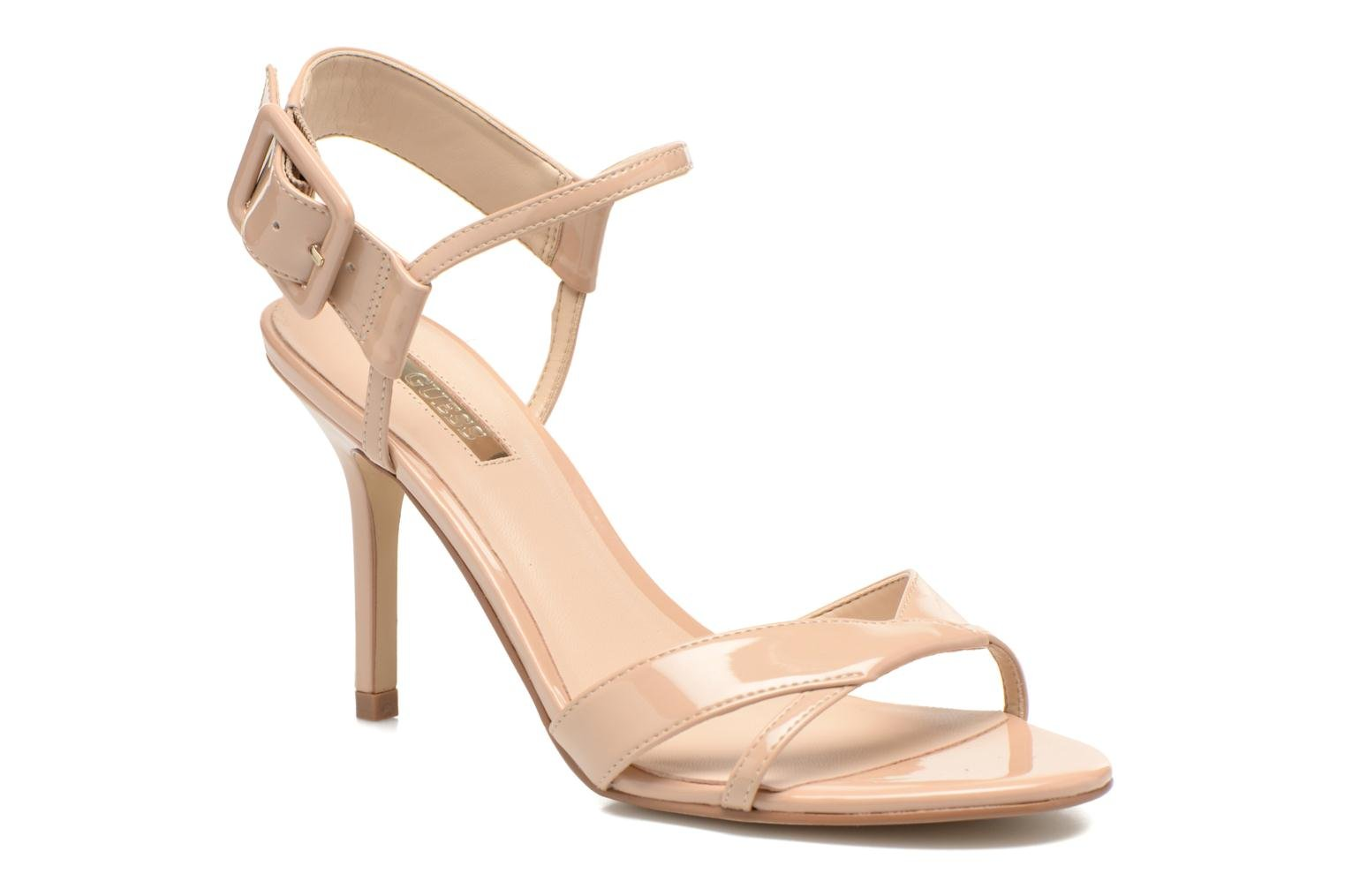 Sandals Guess Deetra Beige detailed view/ Pair view