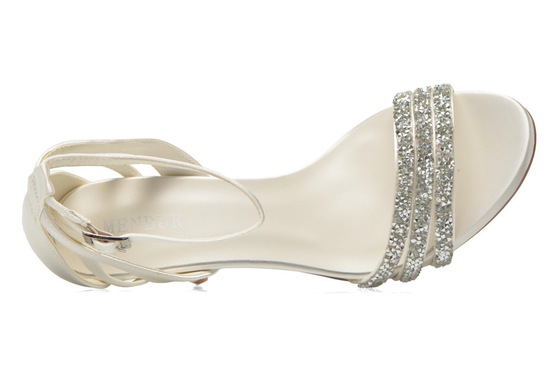Sandales et nu-pieds Menbur Angustina Blanc vue gauche