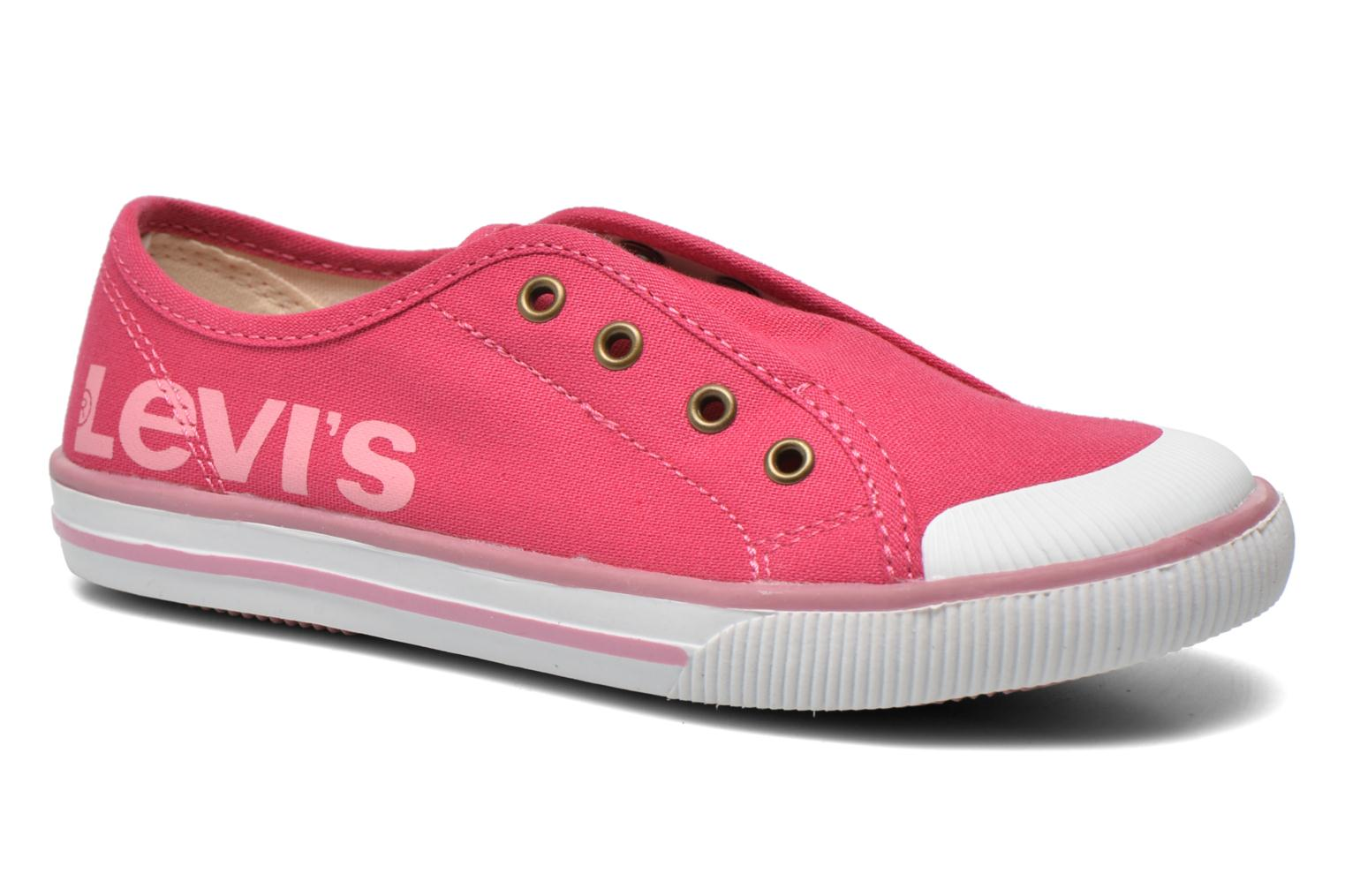 Trainers Levi's Gong Pink 3/4 view
