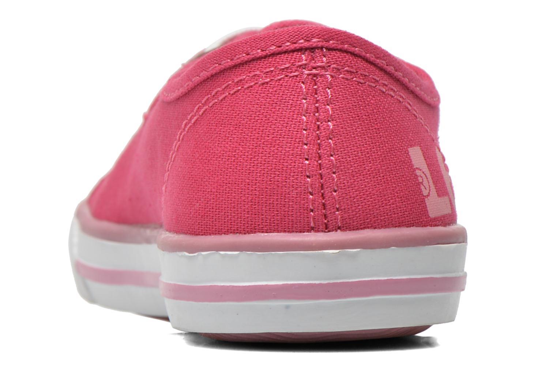 Sneaker Levi's Gong rosa ansicht von rechts