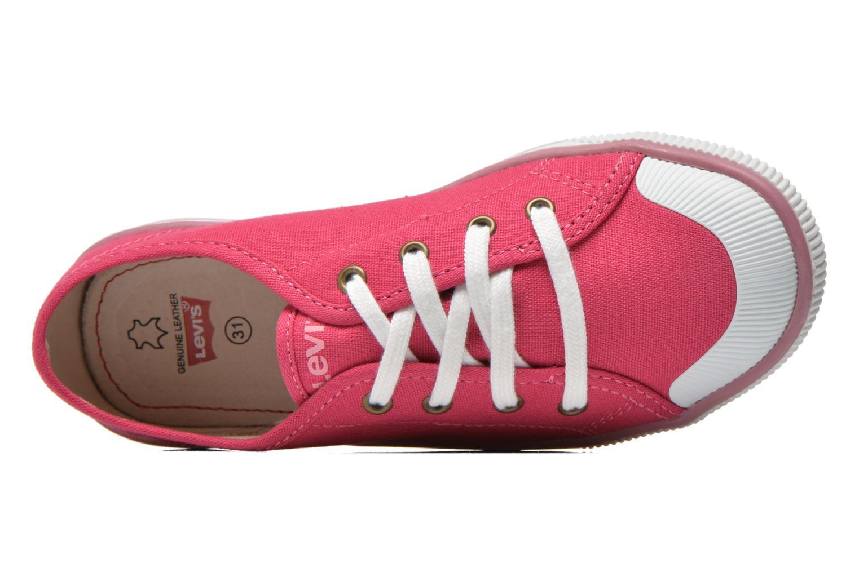 Sneaker Levi's Gong rosa ansicht von links
