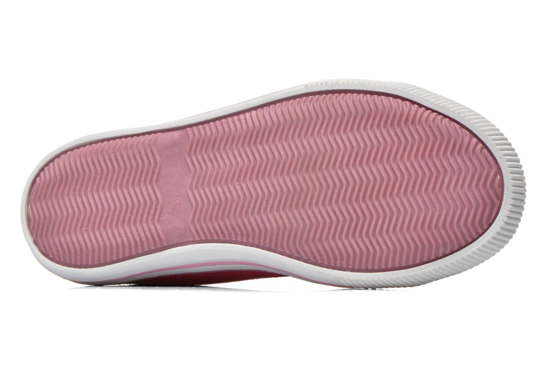 Sneaker Levi's Gong rosa ansicht von oben