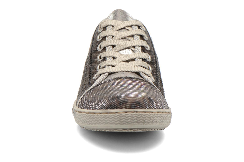 Baskets Rieker Speed 42417 Argent vue portées chaussures