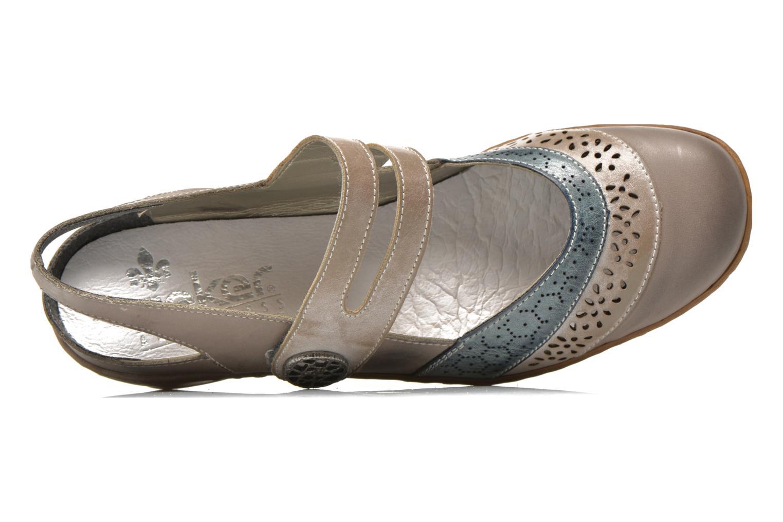 Sandales et nu-pieds Rieker Flow 47185 Beige vue gauche