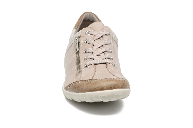 Baskets Remonte Vrel R3417 Blanc vue portées chaussures