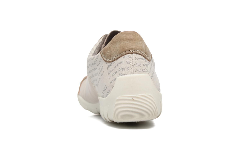 Baskets Remonte Vrel R3417 Blanc vue droite