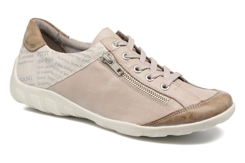 Baskets Remonte Vrel R3417 Blanc vue détail/paire
