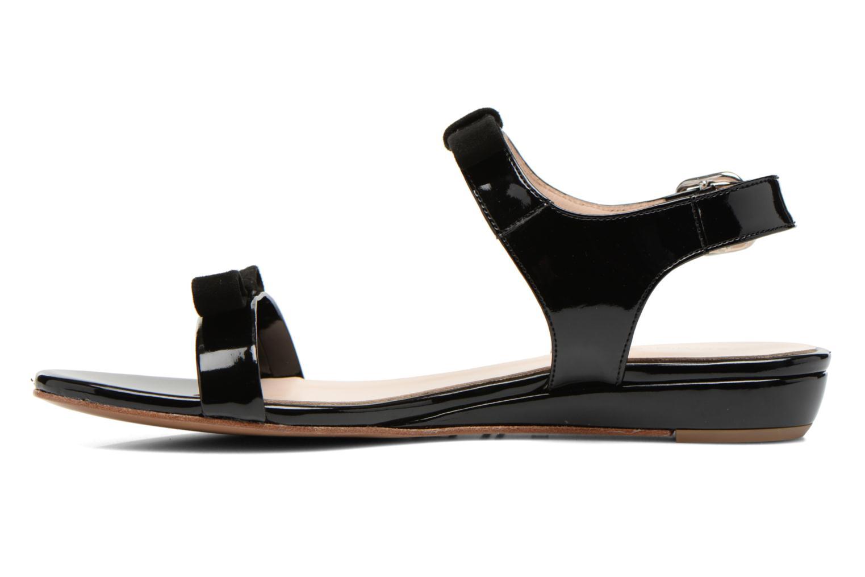 Sandales et nu-pieds Georgia Rose Anopa Noir vue face
