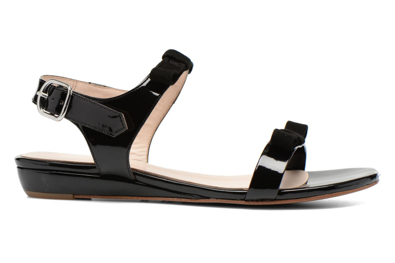 Sandales et nu-pieds Georgia Rose Anopa Noir vue derrière