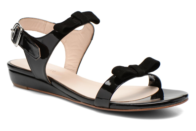 Sandales et nu-pieds Georgia Rose Anopa Noir vue détail/paire