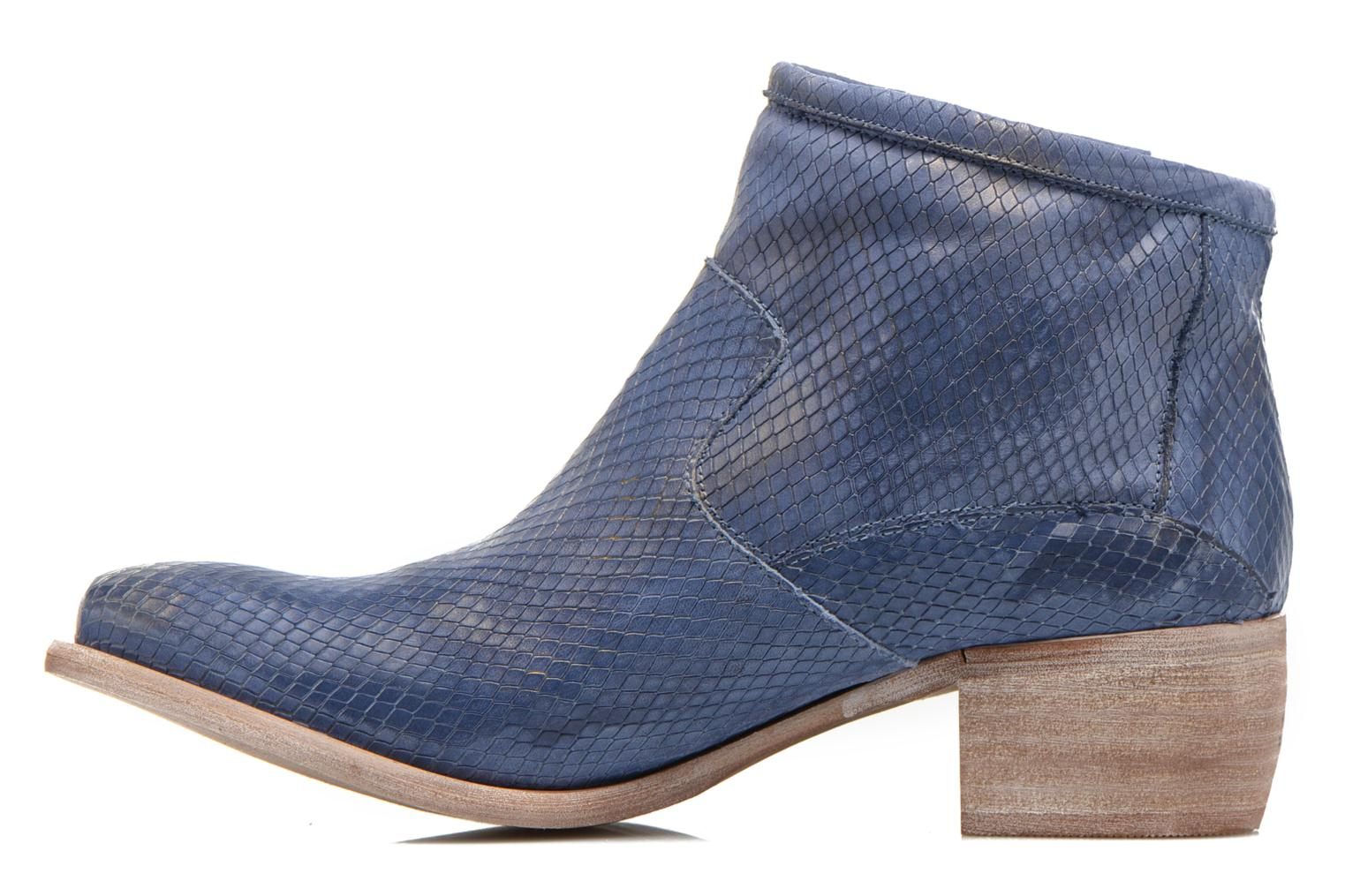 Ankle boots Karston Fuego Blue front view