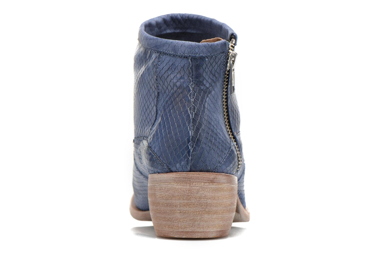 Ankle boots Karston Fuego Blue view from the right