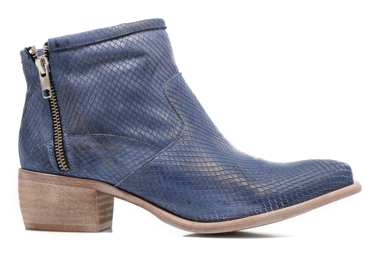 Boots en enkellaarsjes Karston Fuego Blauw achterkant