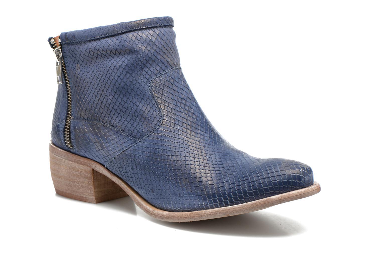 Boots en enkellaarsjes Karston Fuego Blauw detail