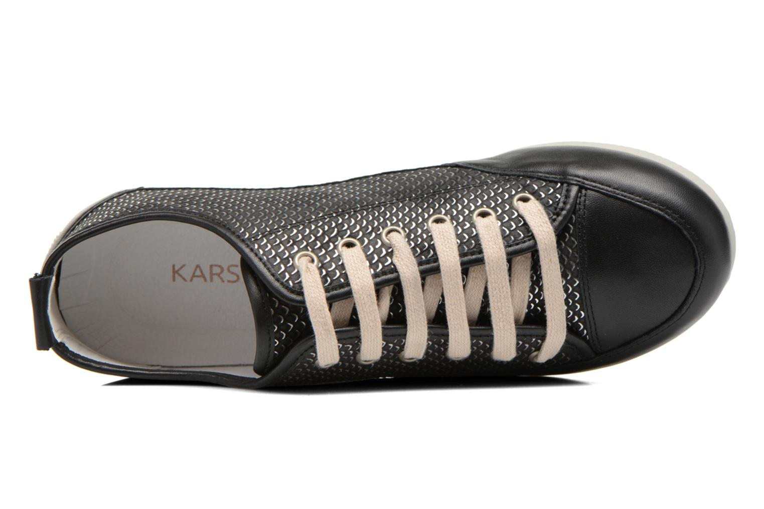 Trainers Karston Caba Black view from the left