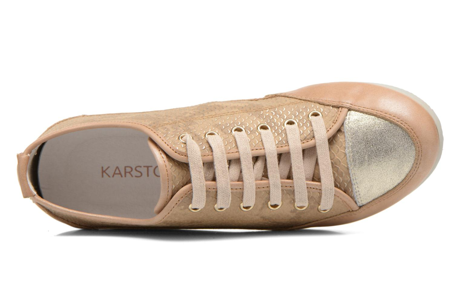 Trainers Karston Caba Brown view from the left