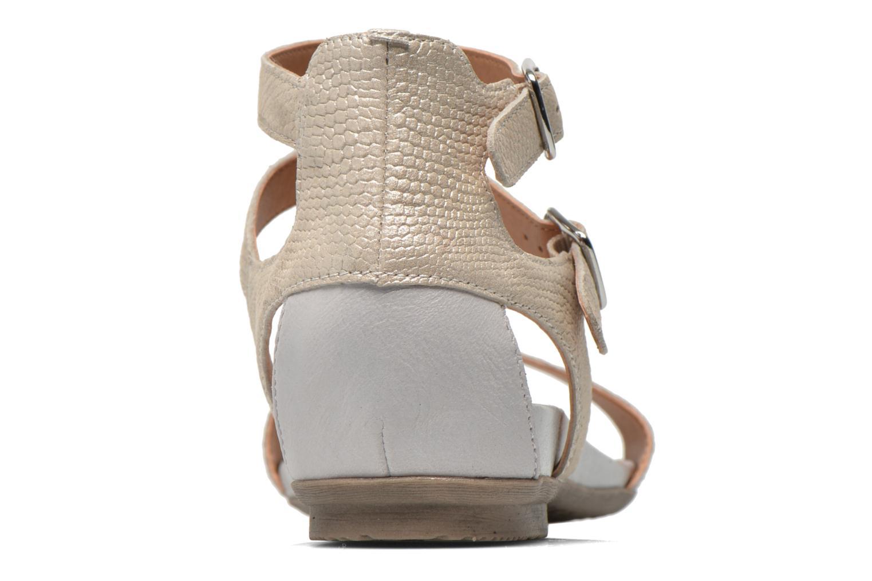 Sandales et nu-pieds Karston Kozin Beige vue droite