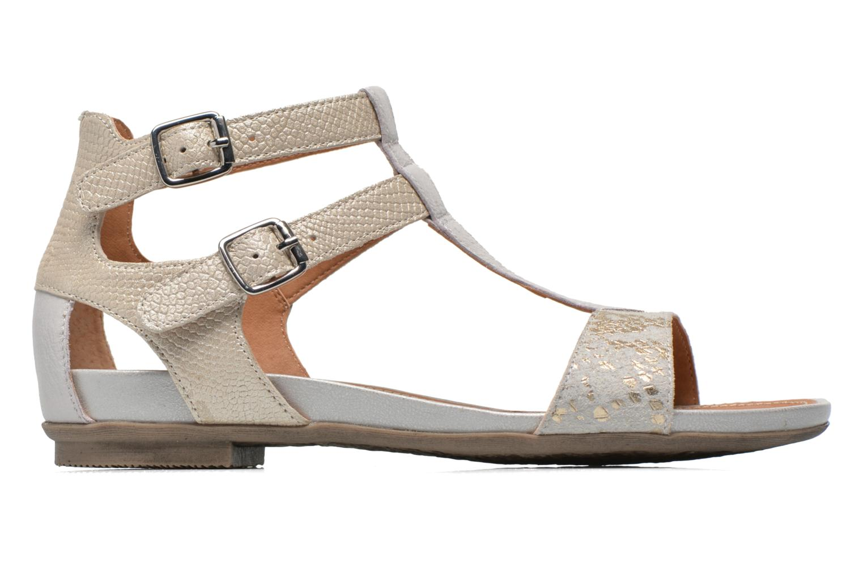 Sandales et nu-pieds Karston Kozin Beige vue derrière