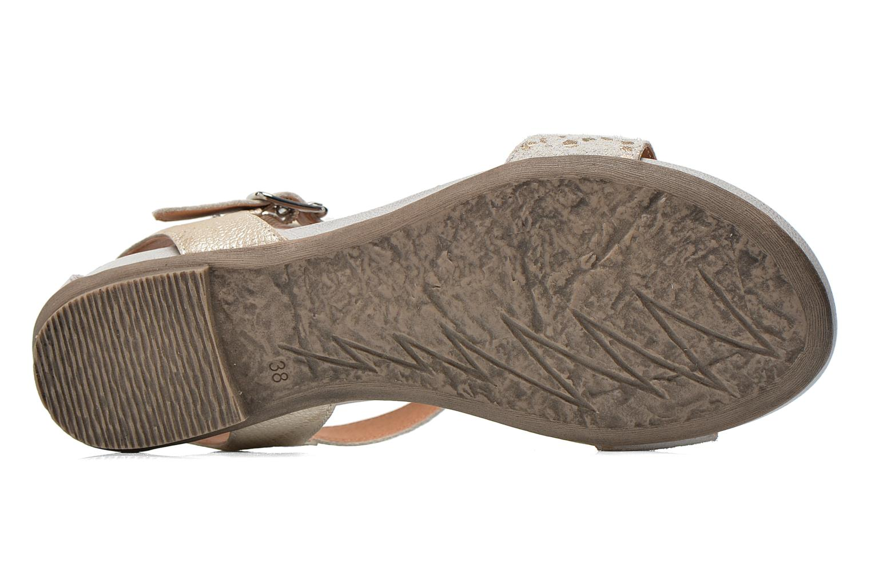 Sandales et nu-pieds Karston Kozin Beige vue haut