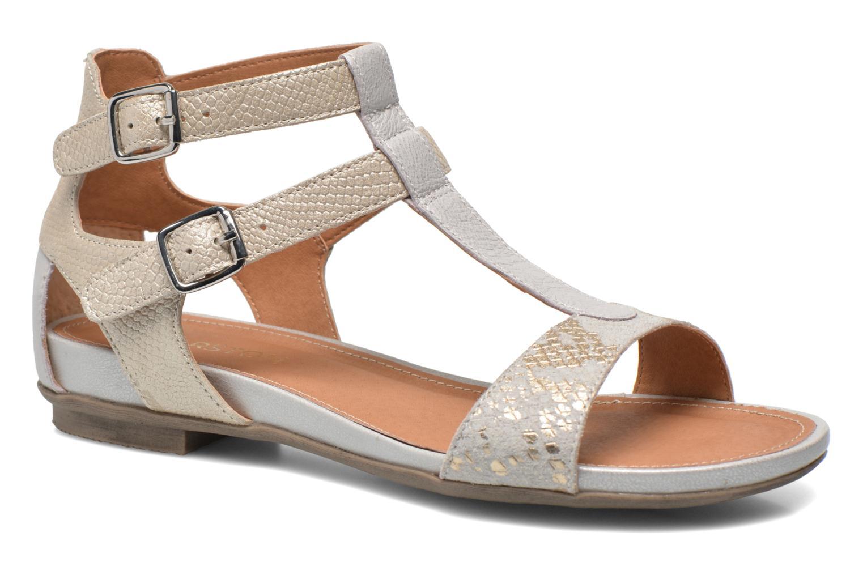 Sandales et nu-pieds Karston Kozin Beige vue détail/paire