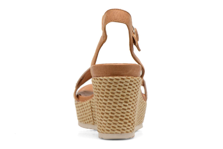 Sandales et nu-pieds Karston Latol Marron vue droite