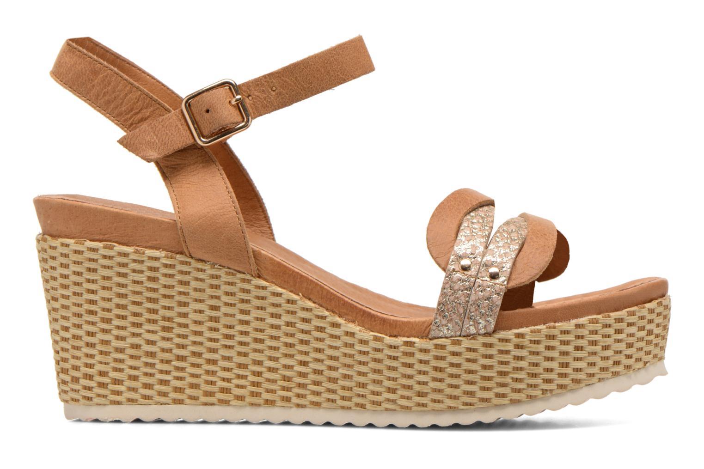 Sandales et nu-pieds Karston Latol Marron vue derrière