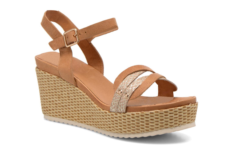 Sandales et nu-pieds Karston Latol Marron vue détail/paire